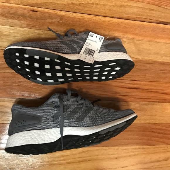 """new style 8f2c7 b5e3e Mens adidas pure boost DPR """"triple grey"""" size 10"""